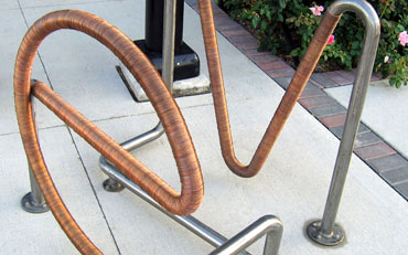 EAST VILLAGE BIKE RACK