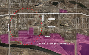 DES MOINES MUNICIPAL SERVICES CENTER MASTER PLAN