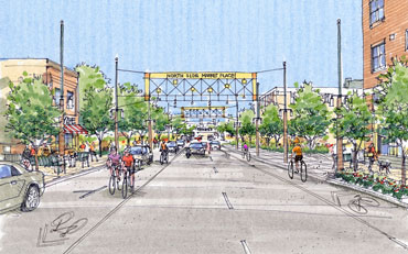 IOWA CITY DOWNTOWN AND PEDESTRIAN MALL STREETSCAPE PLAN UPDATE